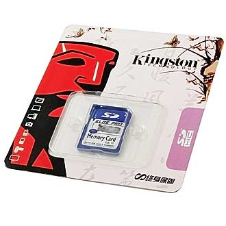 Карты памяти SD 128MB Kingston