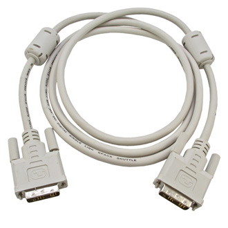 Hdmi / dvi шнуры DVI CABLE 18+1 to 18+1 1.8m
